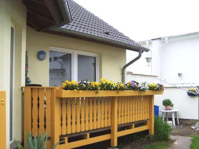 mit einem Balkon an der Ostsee in Göhren | 45169
