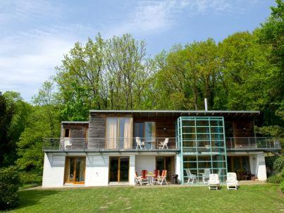 in der Villa Garten und Terrasse | 45150