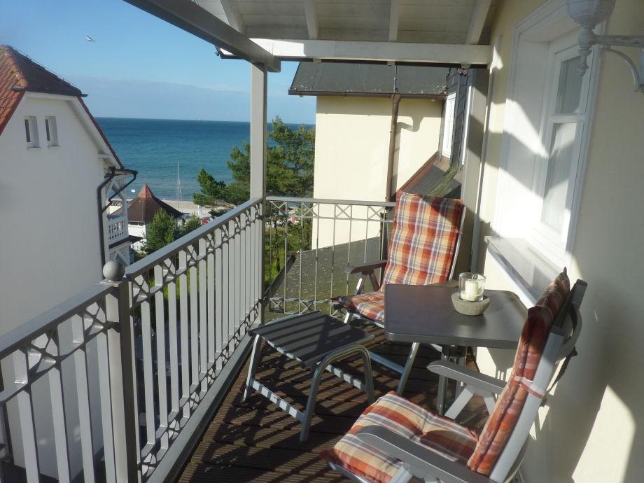 Balkon in der Nachmittagssonne