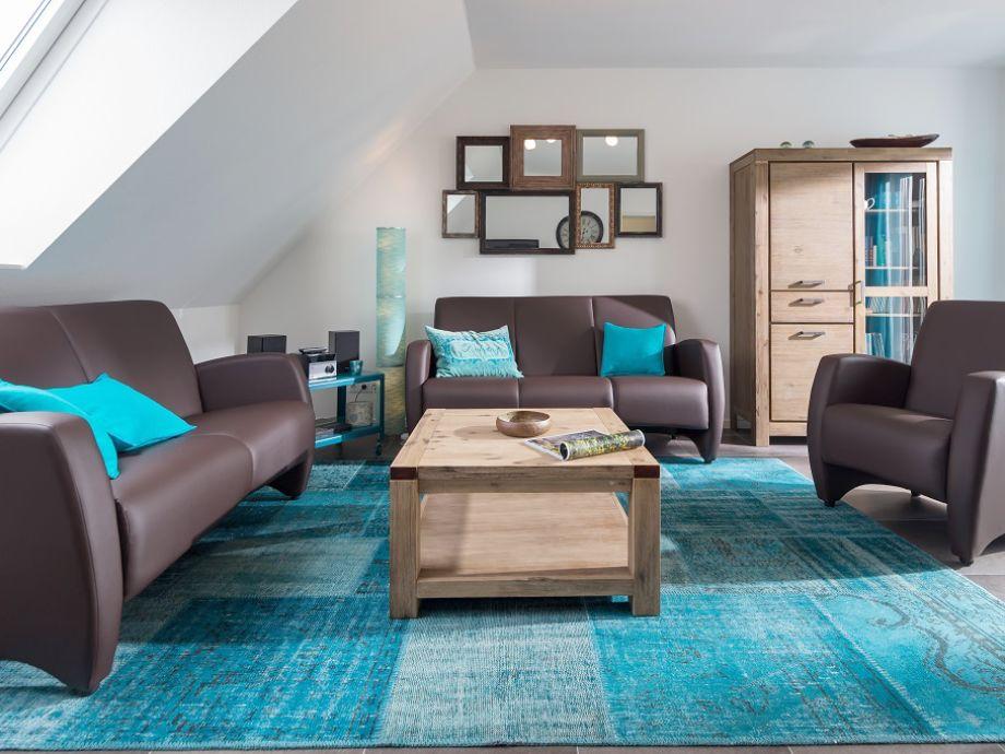 Gemütlicher Wohnbereich - in harmonischen Farben
