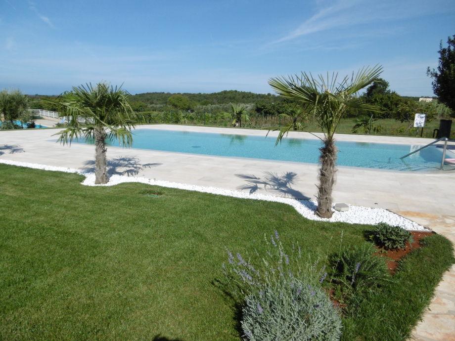 Außenaufnahme La Bambola 2 mit Swimmingpool