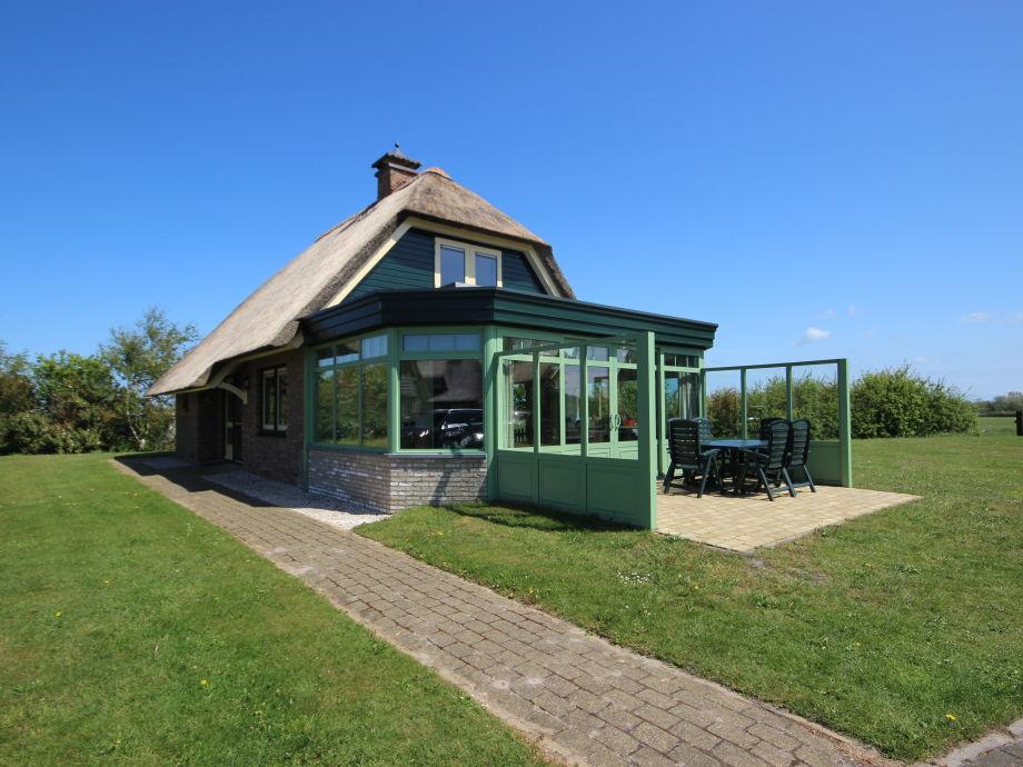Villa Het Buitenhof mit Wintergarten, De Koog Texel