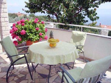 Ferienwohnung Kamin in der Villa Oliveto