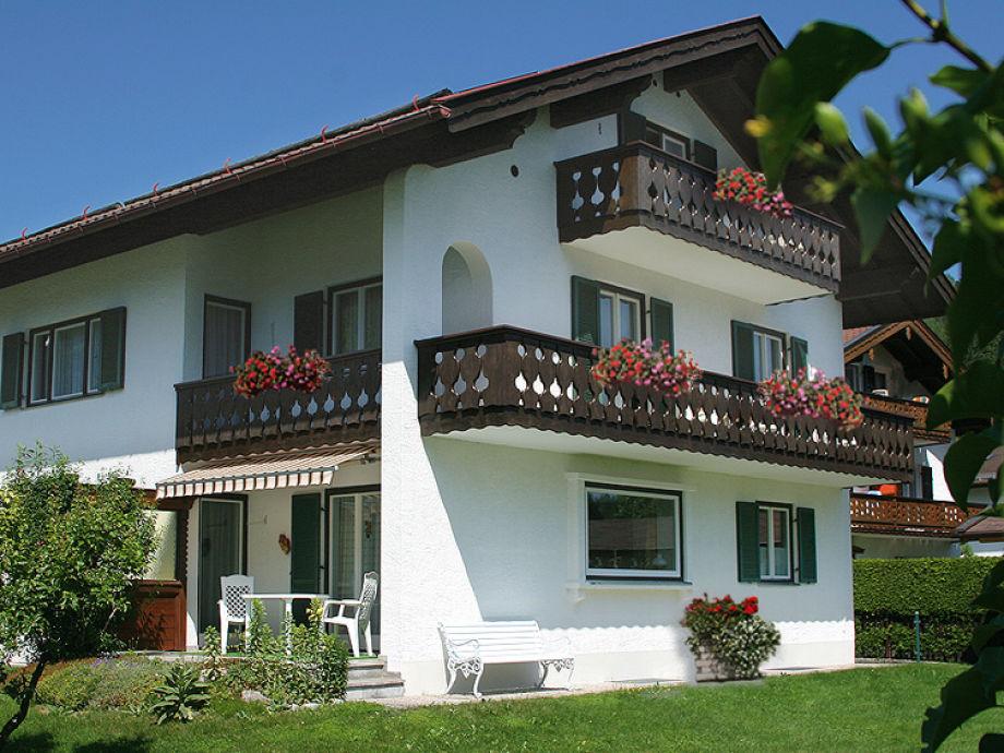 Balkone mit Karwendelblick