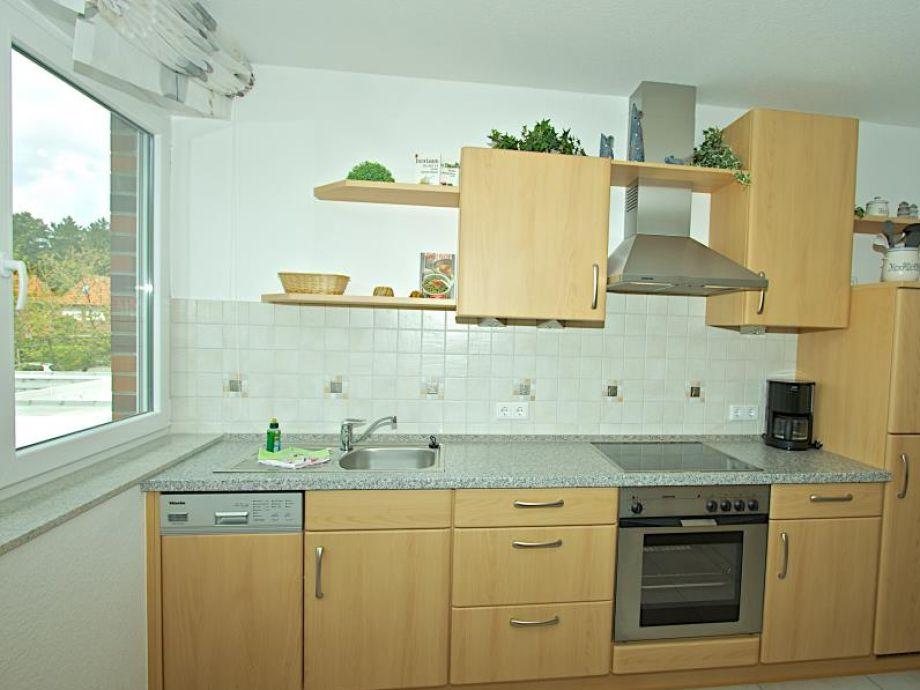 Küchenzeile Mit Waschmaschine Und Geschirrspüler ~ ferienwohnung am voßhörn 28 06, deutschland, nordsee