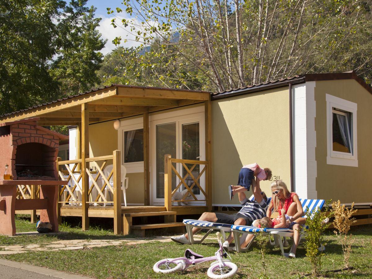 Ferienhaus premium mobile home medveja opatija riviera for Mobiles ferienhaus