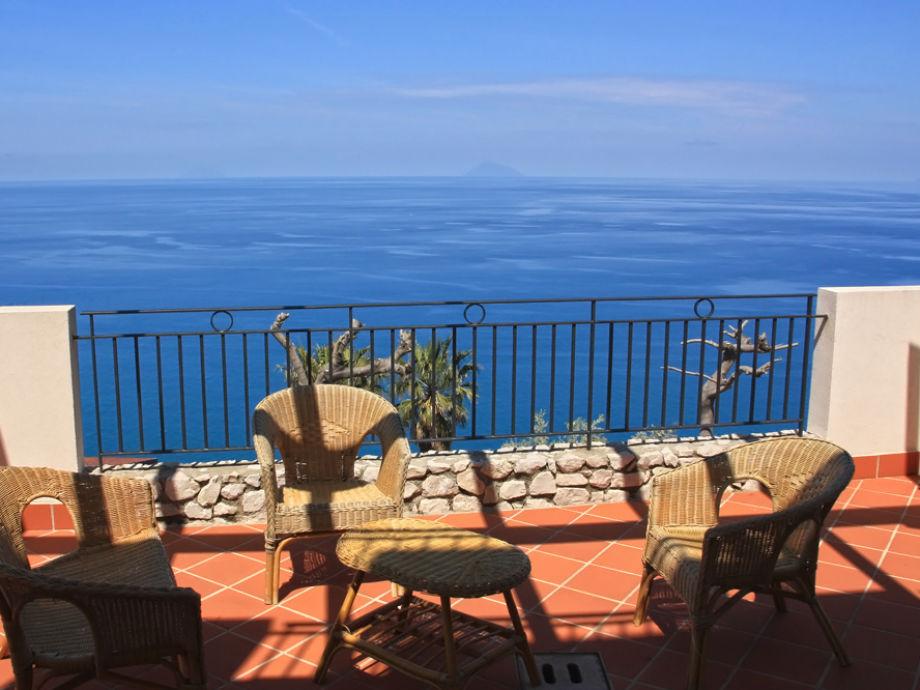 Atemberaubender Meerblick von der Terrasse