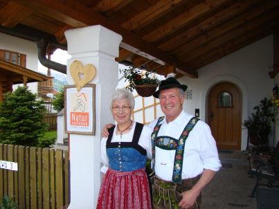 Ihr Gastgeber Philomena und Willi Neuner