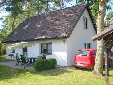 """Ferienhaus """"Weststrand"""" im Darßwald für Urlaub mit Hund"""