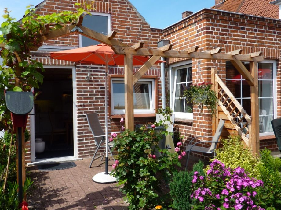 Hauseingang mit Terrasse `Das kleine Studio`