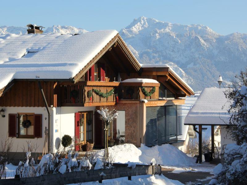 Ferienwohnung Aggenstein Haus Bergblick
