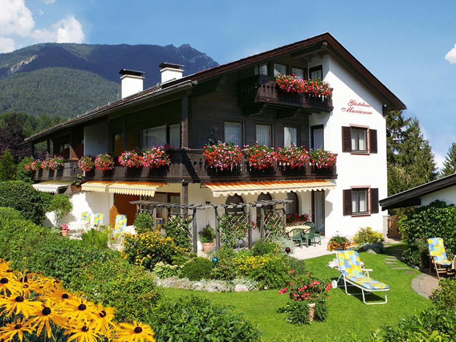 Gästehaus Marianne unter Deutschlands höchstem Berg
