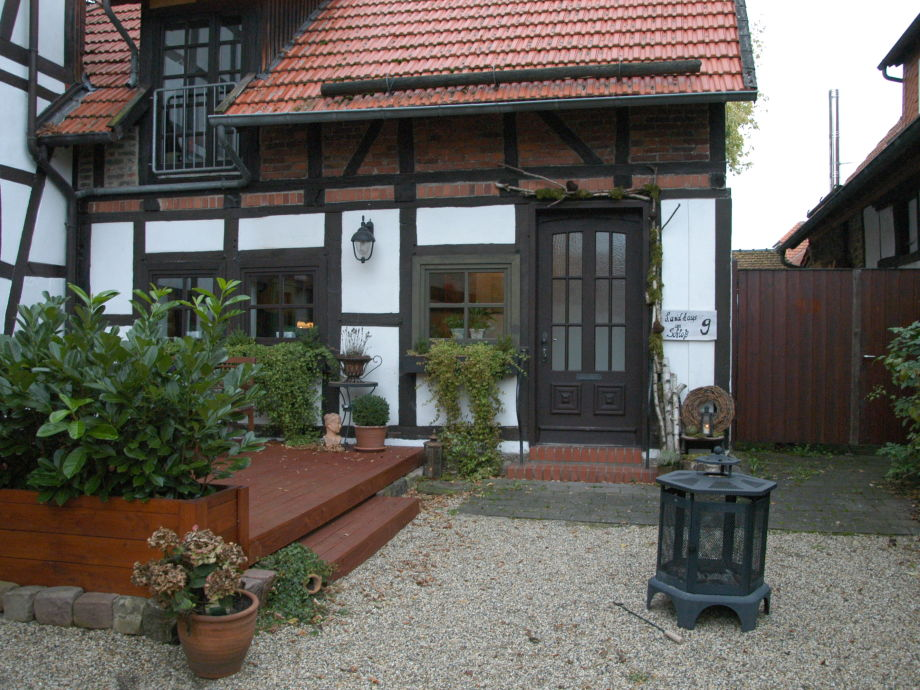 Landhaus im Herbst