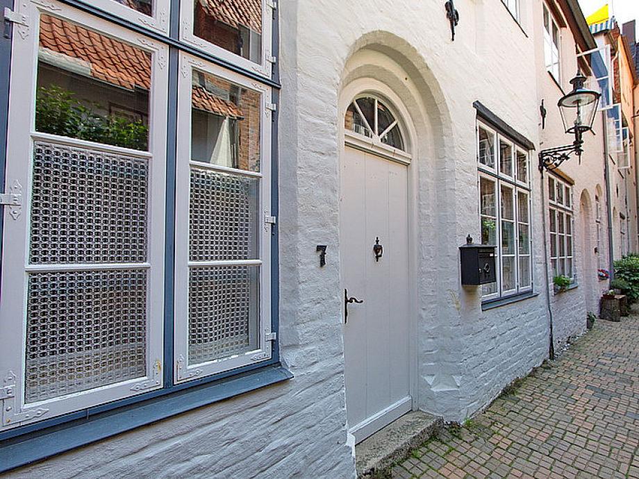 Außenaufnahme Kapitänshaus Lübeck