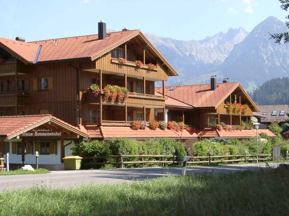 Haus Am Sonnenwinkel mit Fewo Bergheimat