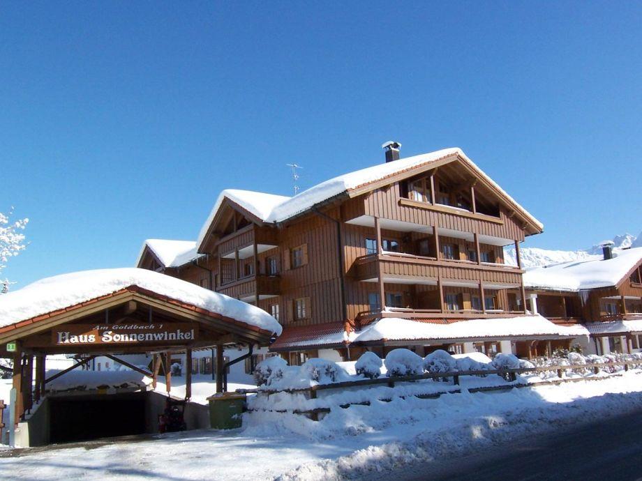 Haus Am Sonnenwinkel im Winter