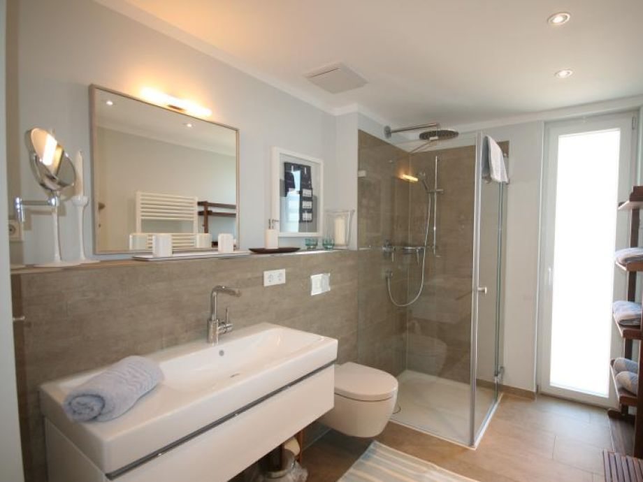 Ferienwohnung STRANDraum Haffkrug   Duschbad Und WC