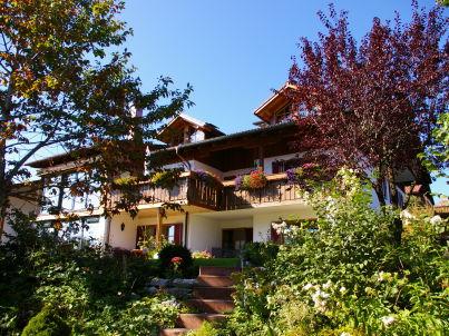 Hochplatte im Haus Bergblick