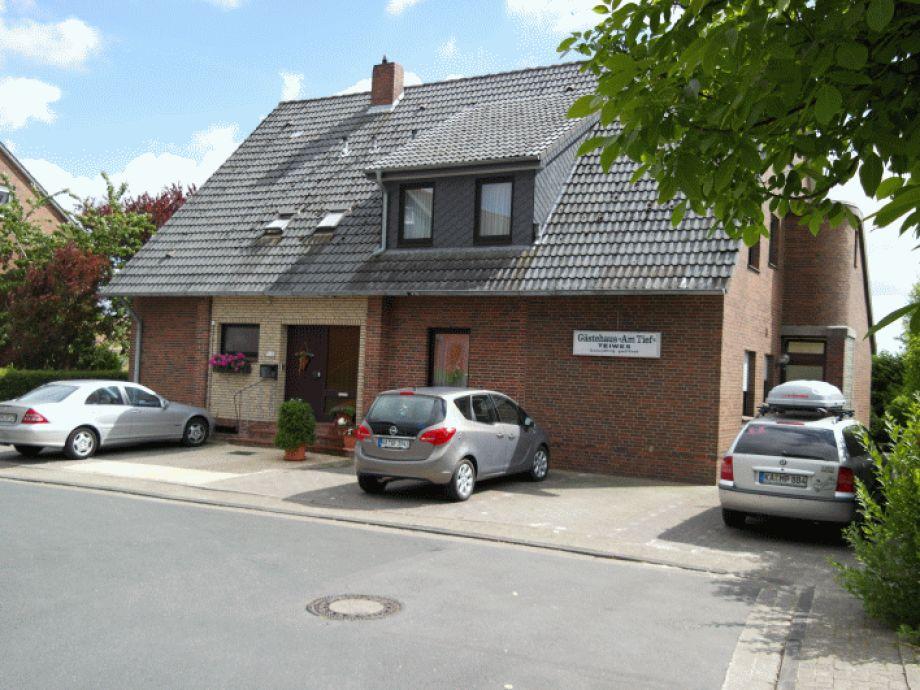 """Ansicht Gästehaus """"Am Tief"""""""
