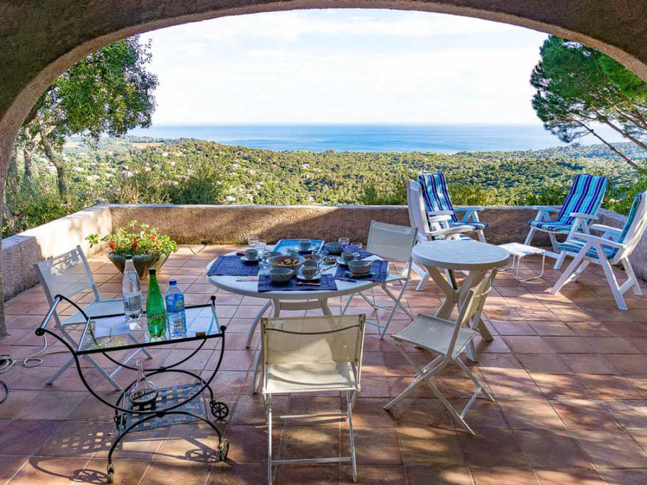 Holidayhome with seaview in La Croix-Valmer