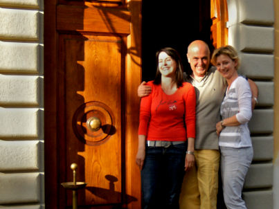 Ihr Gastgeber Patrizio & Sonia Tinalli
