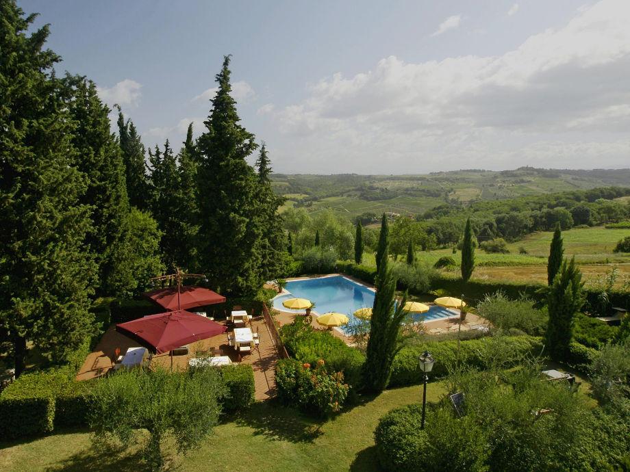 Residence Villa la Cappella in Montespertoli - toskana