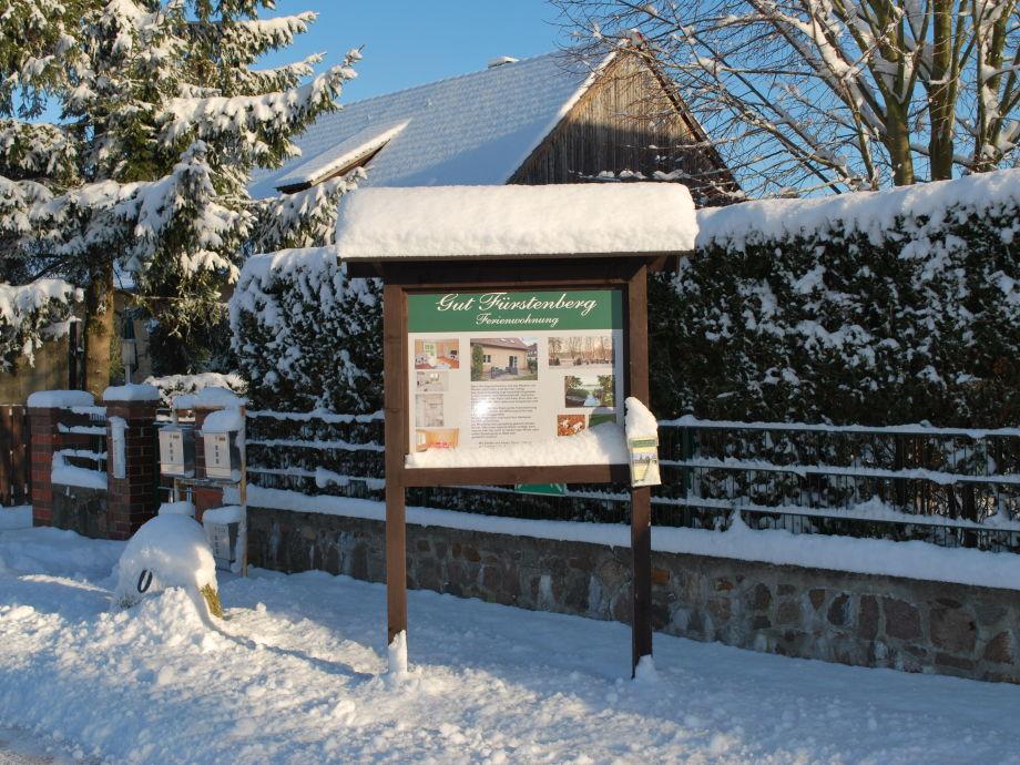 Winter auf Gut Fürstenberg