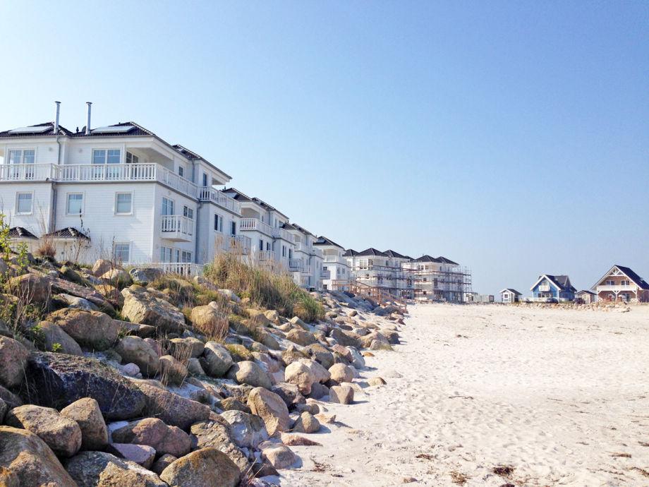 Die Strandvillen im Ostseeresort Olpenitz