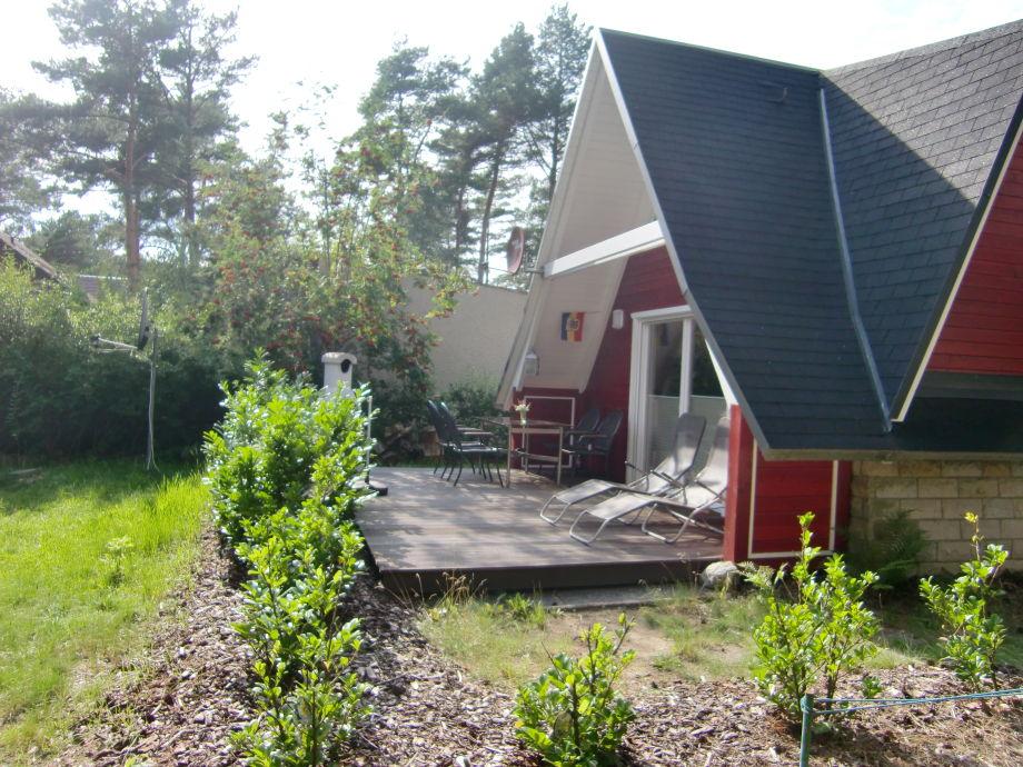 Finnenhaus mit Terrasse