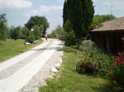 Agriturismo Renzano Garten-Ferienwohnung Typ C