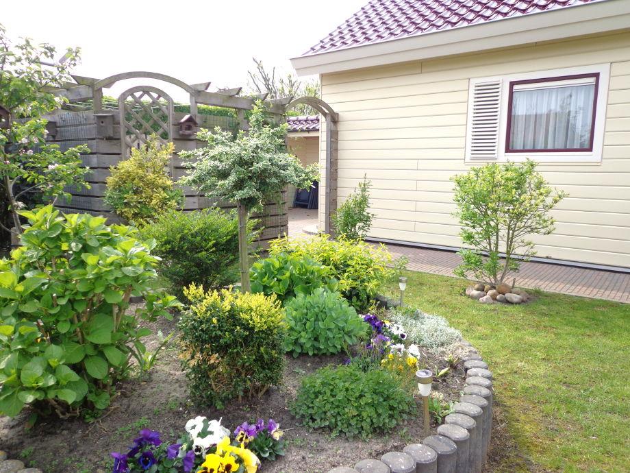 Eintritt zum Gartenhauschen