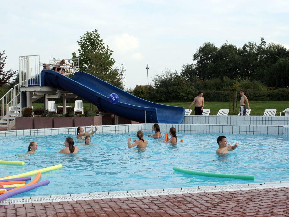 Holli ferienhaus tecklenburger land teutoburger wald for Schwimmbad aussen
