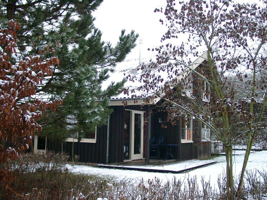 Ferienhaus Kristin im Winter