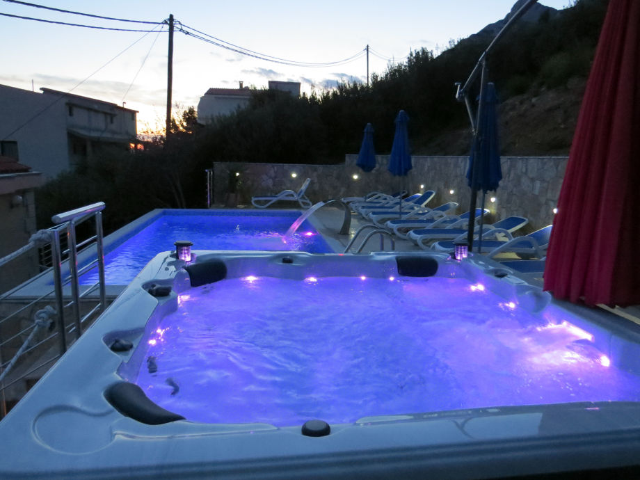 Pool with Whirlpool