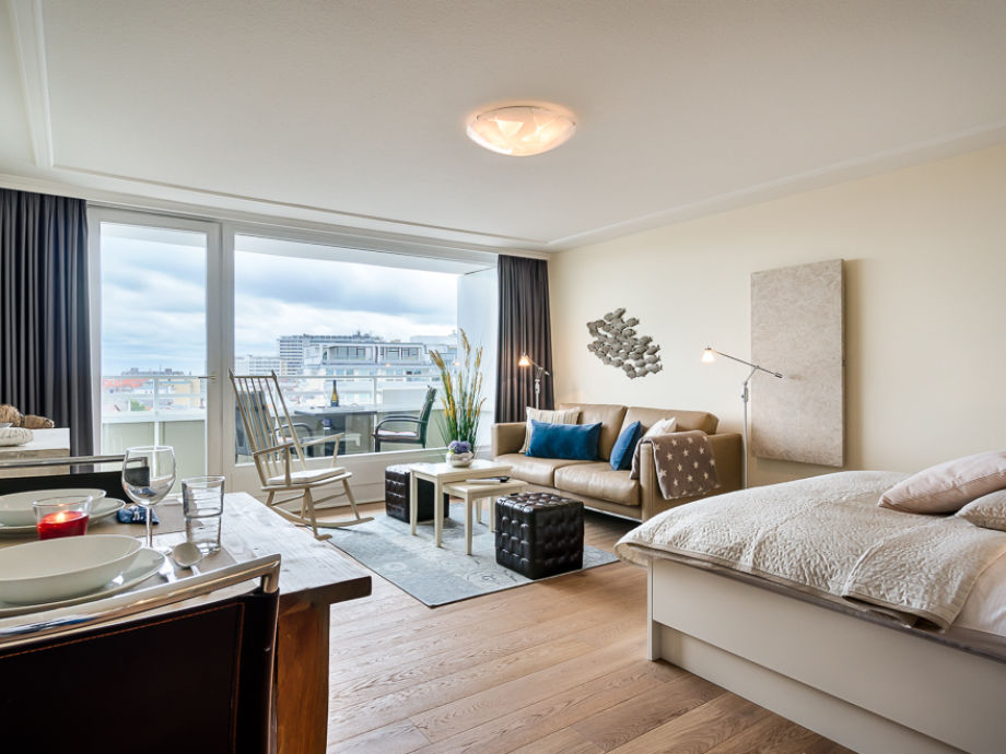 Apartment Penthouse Suite Quot Skyline Quot Mit Panorama Meerblick Nordfriesland Nordsee Sylt
