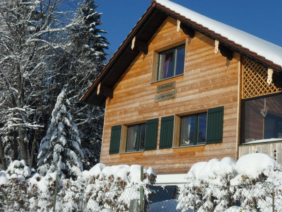 Das Landhaus im Winter