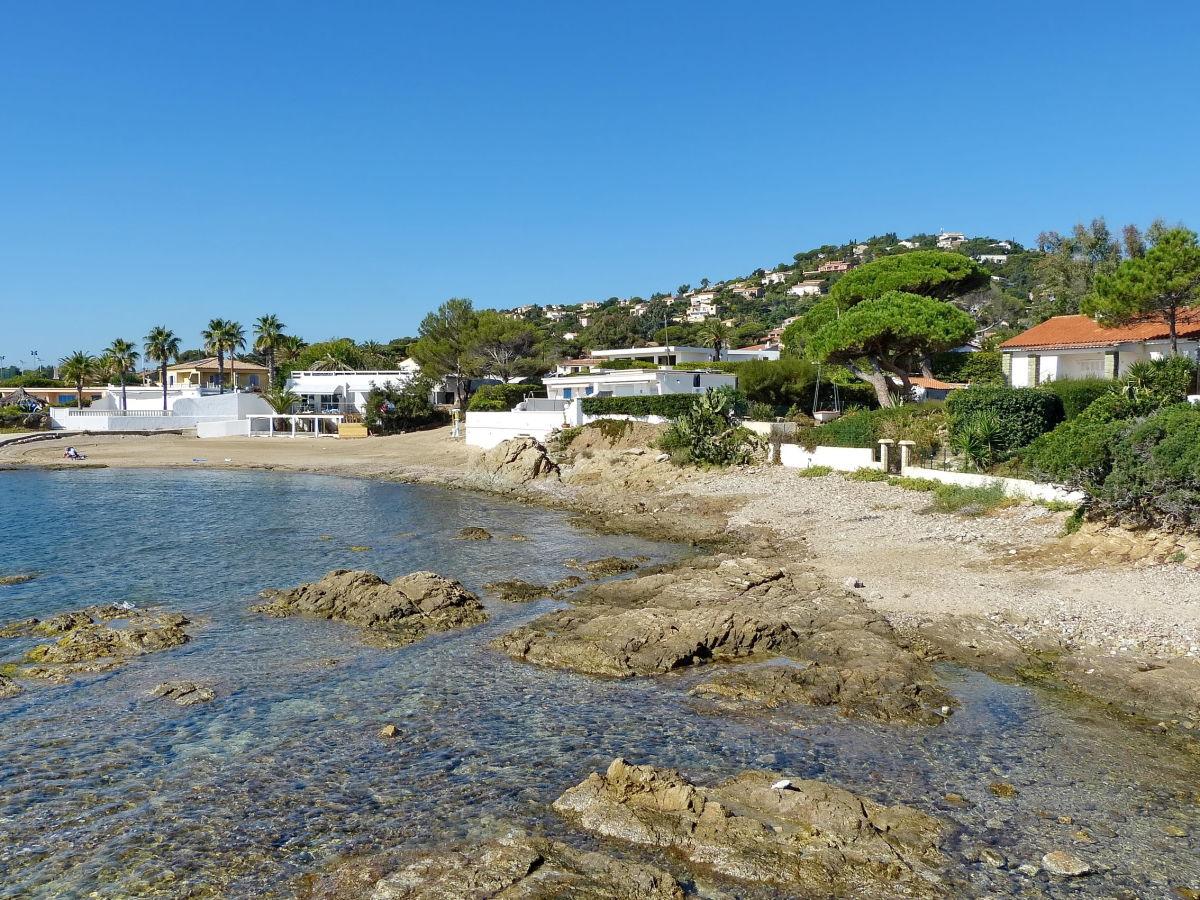 Ferienhaus direkt am Strand in Les Issambres, Côte d'Azur ...