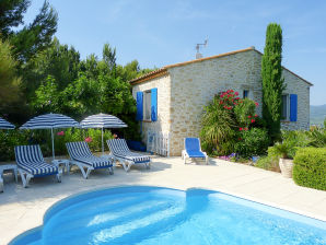 Holiday house with pool in the hinterland of the Côte d'Azur
