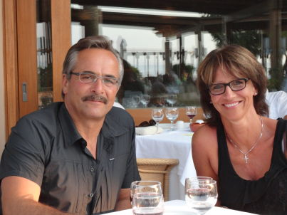 Ihr Gastgeber Sam und Angela Jossi