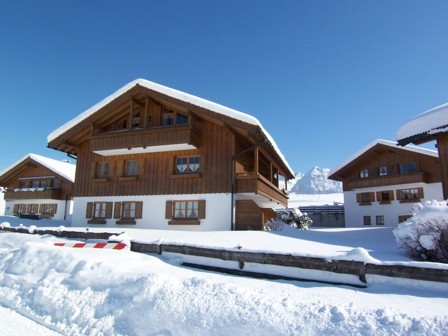 Das Ferienhaus Am Goldbach mit Feienwohnung Bergblick