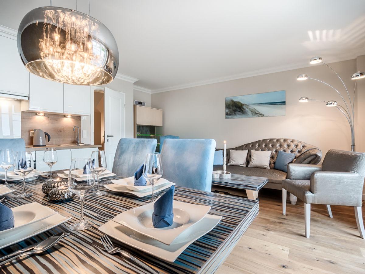 stylische 4 zi neubau ferienwohnung trendline nordfriesland nordsee sylt westerland. Black Bedroom Furniture Sets. Home Design Ideas