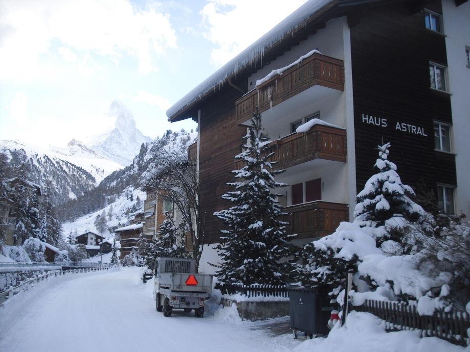 Haus Astral mit Matterhorn