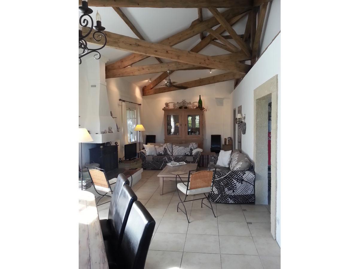 ferienwohnung villa la bacchante provence vaucluse mont