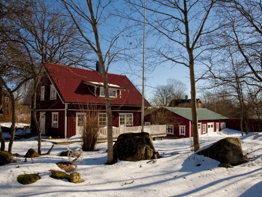 Villa Smedjan in winter