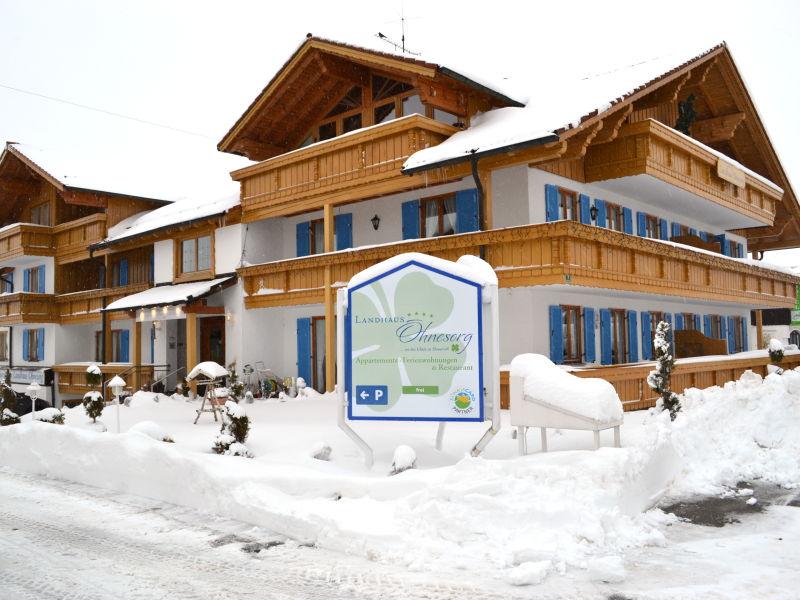 Ferienwohnung Alpenblick im Landhaus Ohnesorg