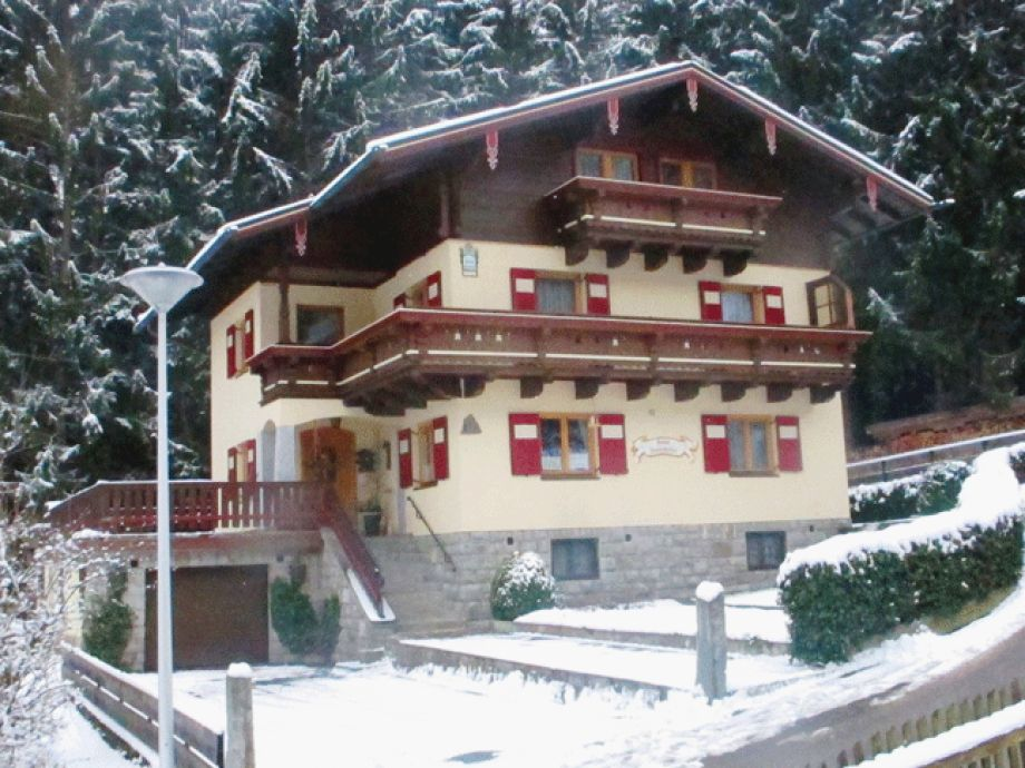 Außenaufnahme vom Ferienhaus Innerhofer