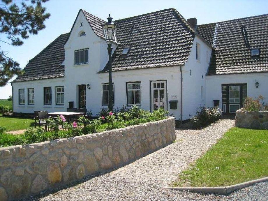 Das Haus Deichhof in der Außenansicht