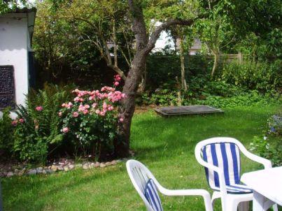 Gartenwohnung im Haus Muschel