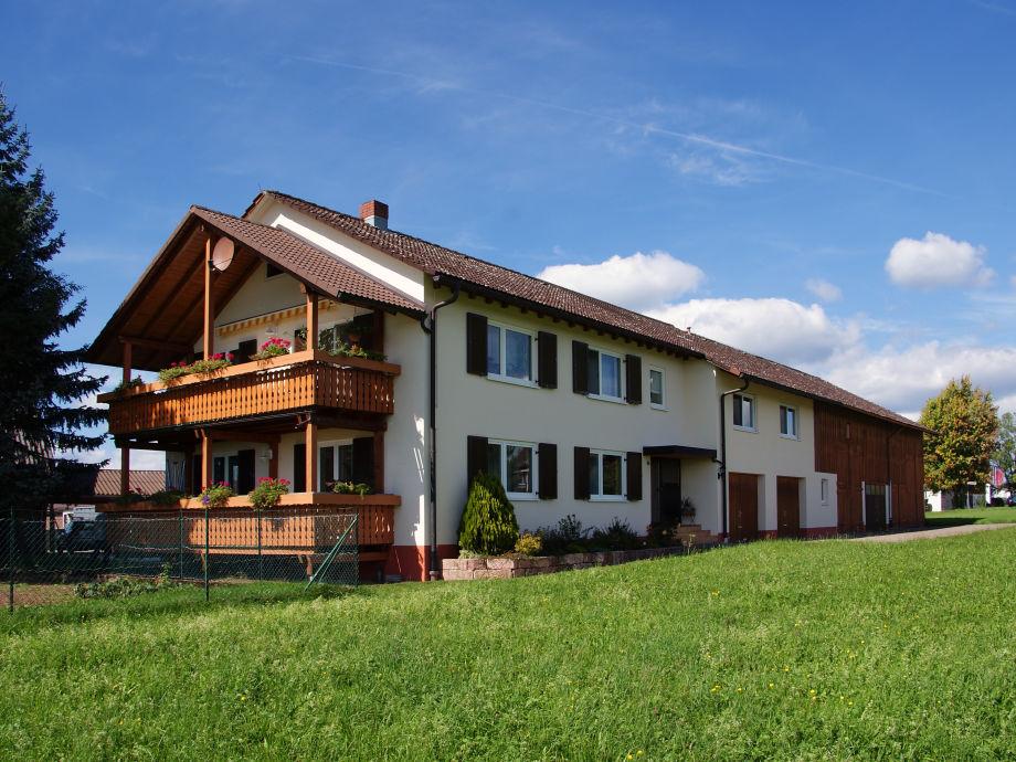 Unsere Ferienwohnung  am Ortsrand von Musbach gelegen