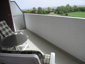 Ferienwohnung Deck 7 -  Meerblick, Pool und Sonnenterrasse